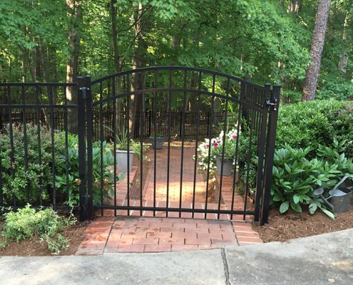 5' arch gate