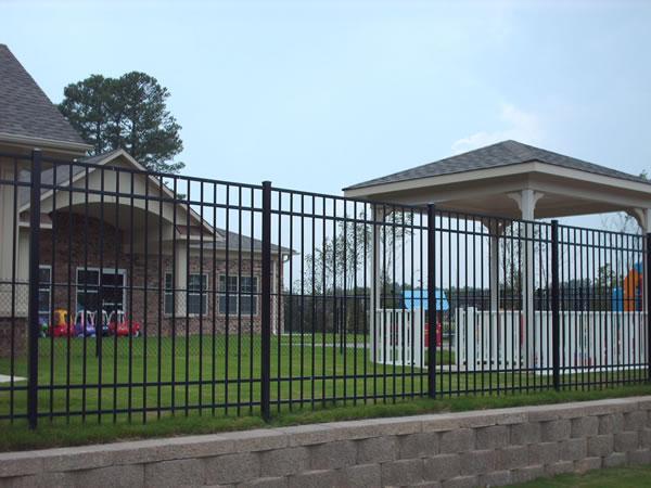 8' Ornamental Aluminum Preschool Enclosure