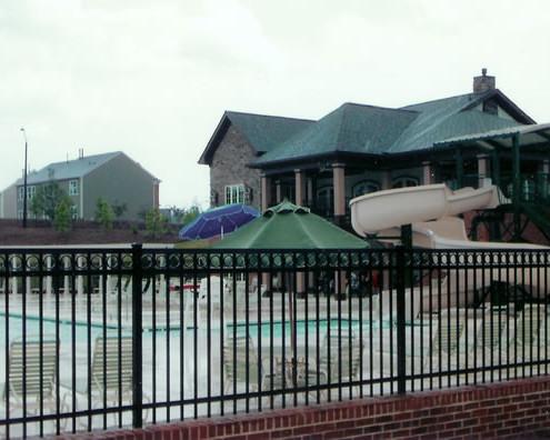 Commercial Aluminum Community Pool Fence