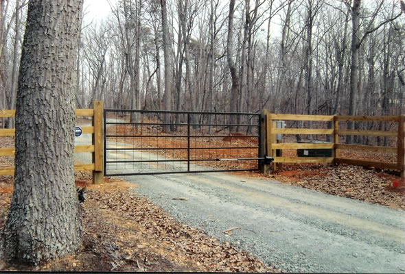Commercial Entry Gates Fortress Fencing