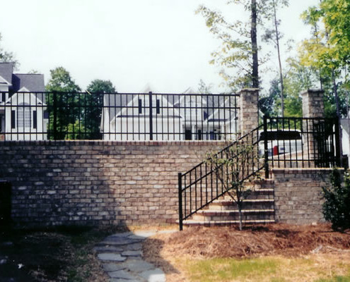 Custom Ornamental Handrails