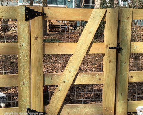 Estate Gate - 4-rail