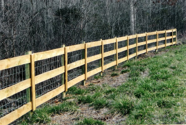 Residential Wire & Rail Fencing | Fortress Fencing