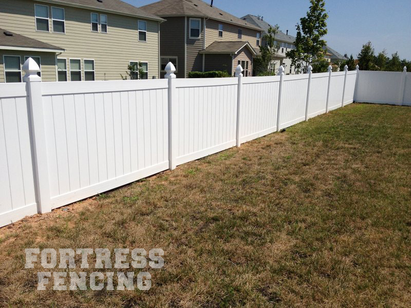 Residential Pvc Vinyl Fencing Fortress Fencing