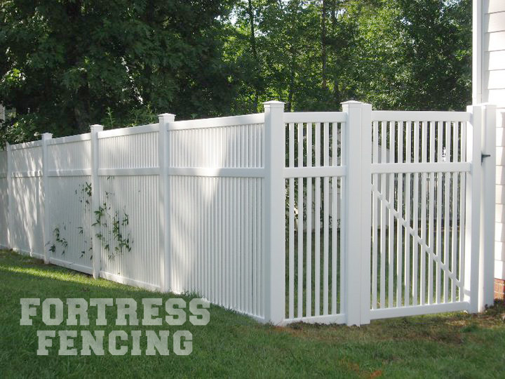 Residential PVC Vinyl Fencing | Fortress Fencing