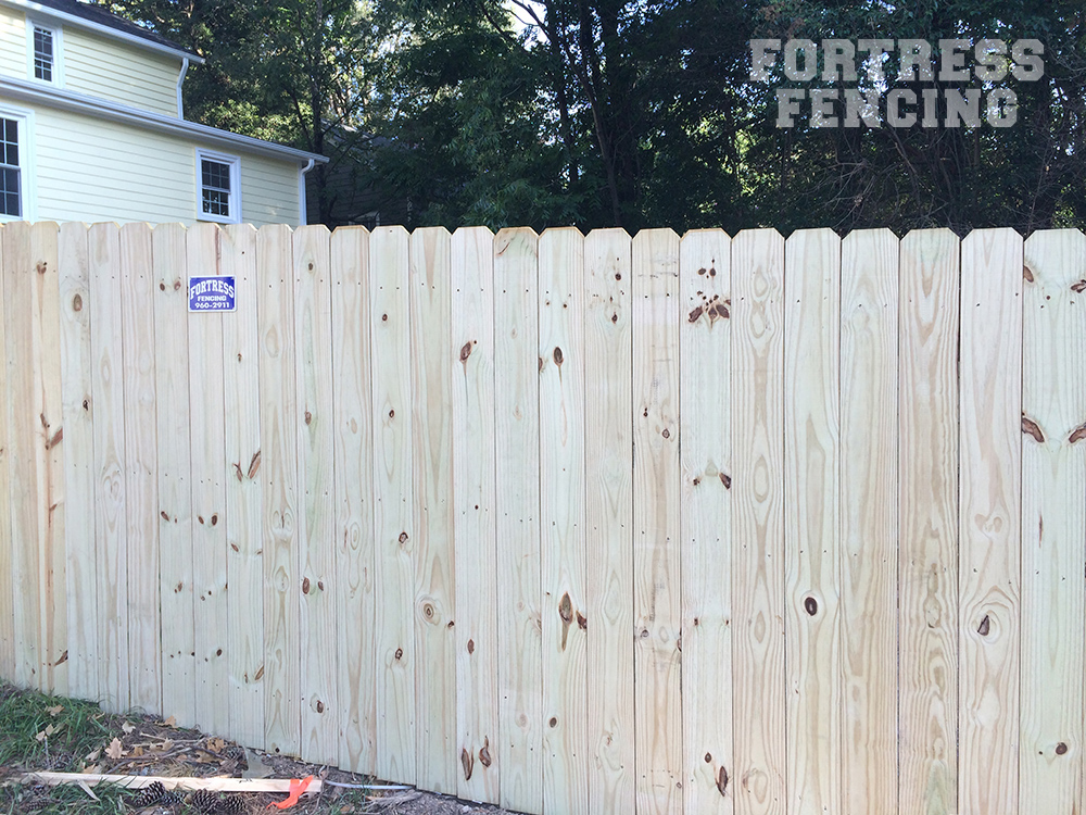 Residential Wood Fencing | Fortress Fencing