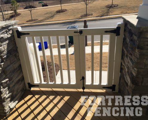 Front porch gate 1