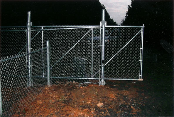 Galvanized Cantilever Chain Link