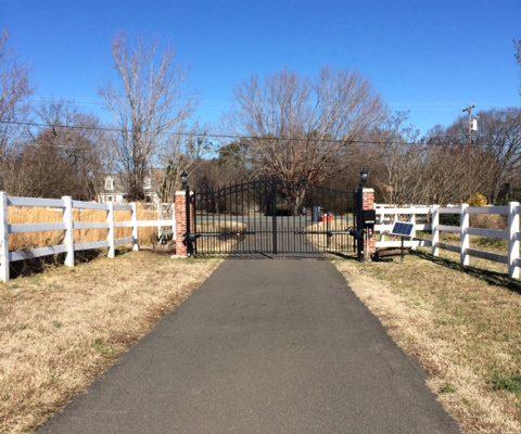 Estate Rail with Aluminum Gate
