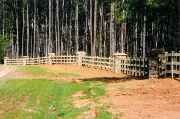 Monumentation Fence