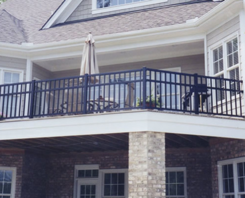 Ornamental Aluminum Handrail