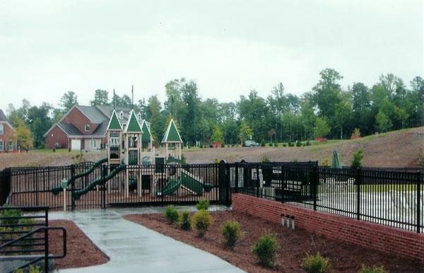 Ornamental Aluminum Pool & Playground Fence