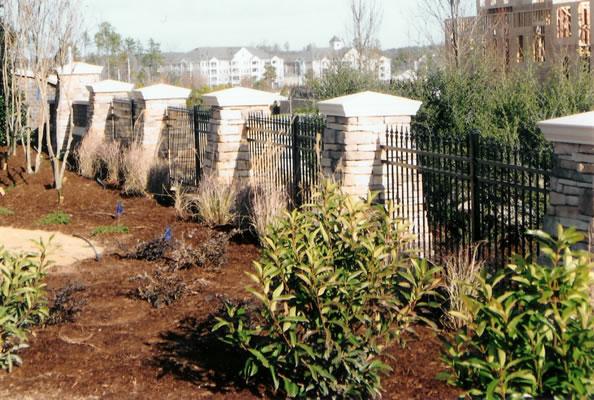 Ornamental Monumentation Fence