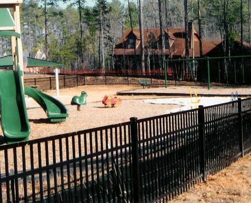 Ornamental Playground Fence