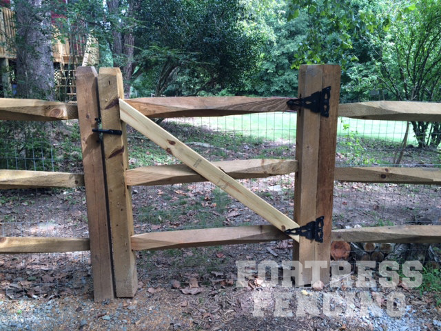 Residential Entry Gates Fortress Fencing