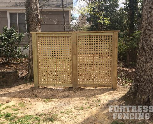 custom - lattice screen