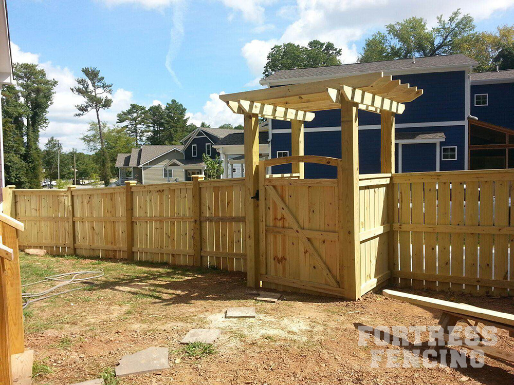 Residential Arbors Fortress Fencing