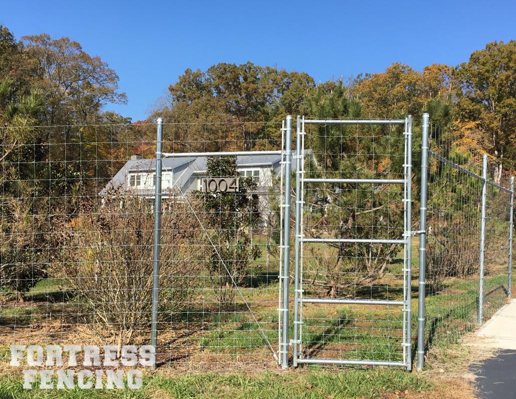 8' Graduated Field Wire Deer Fence