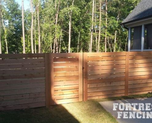 Semi-Private Horizontal Cedar